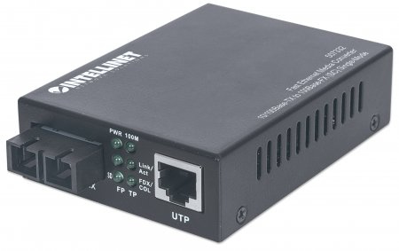 Intellinet 507332 100Mbit/s 1310nm Einzelmodus Netzwerk Medienkonverter
