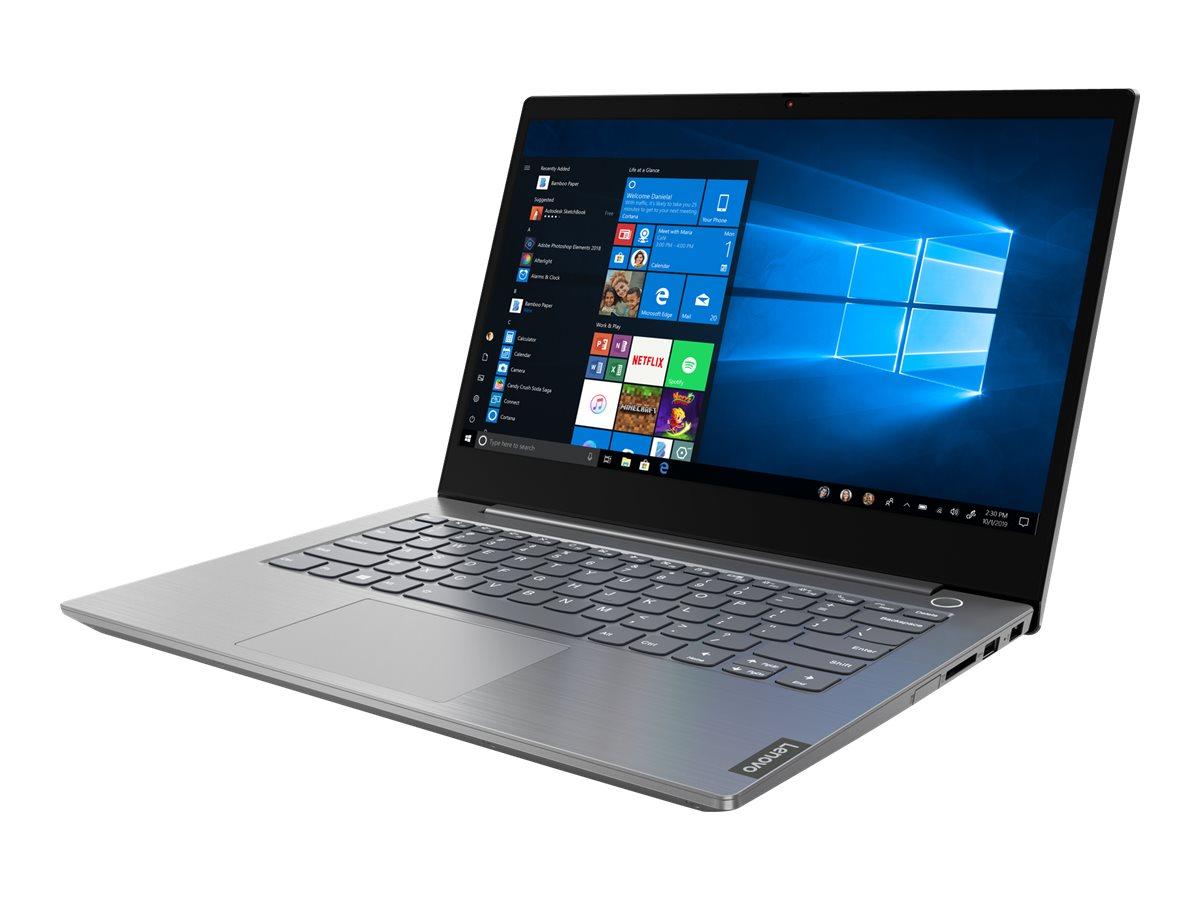 "Vorschau: Lenovo ThinkBook 14-IIL 20SL - Core i5 1035G1 / 1 GHz - Win 10 Pro 64-Bit - 8 GB RAM - 256 GB SSD NVMe - 35.6 cm (14"")"