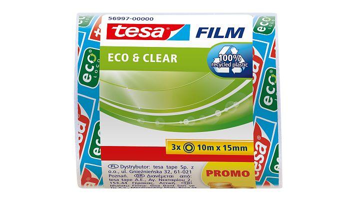 Vorschau: Tesa 56997 - 10 m - Transparent - 15 mm - 3 Stück(e)