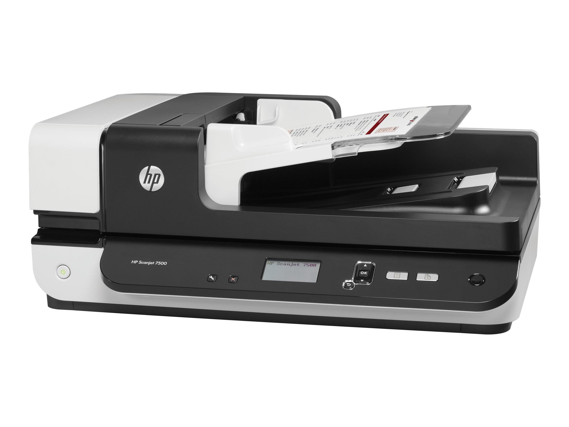 HP ScanJet Enterprise 7500 - Dokumentenscanner - Duplex - 216 x 864 mm - 600 dpi x 600 dpi - bis zu 50 Seiten/Min. (einfarbig)