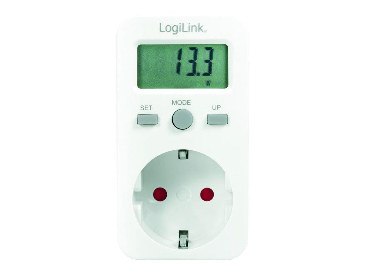 LogiLink Energy cost meter - Überwachungseinheit für Stromversorgung