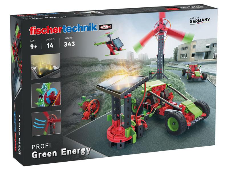 Vorschau: fischertechnik Green Energy - Bausatz - Junge - 343 Stück(e)