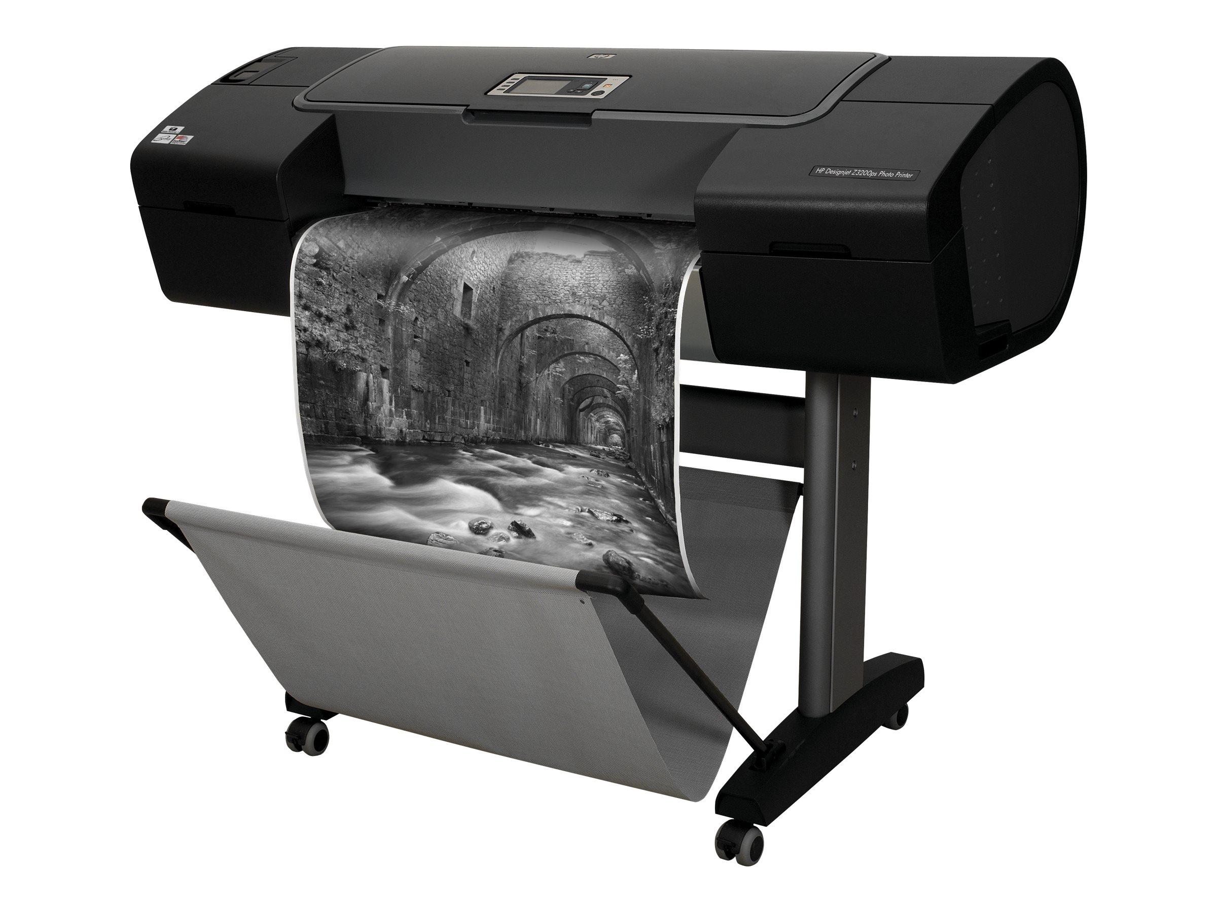 "HP DesignJet Z3200ps - 610 mm (24"") Großformatdrucker - Farbe - Tintenstrahl - Rolle A1 (61,0 cm)"