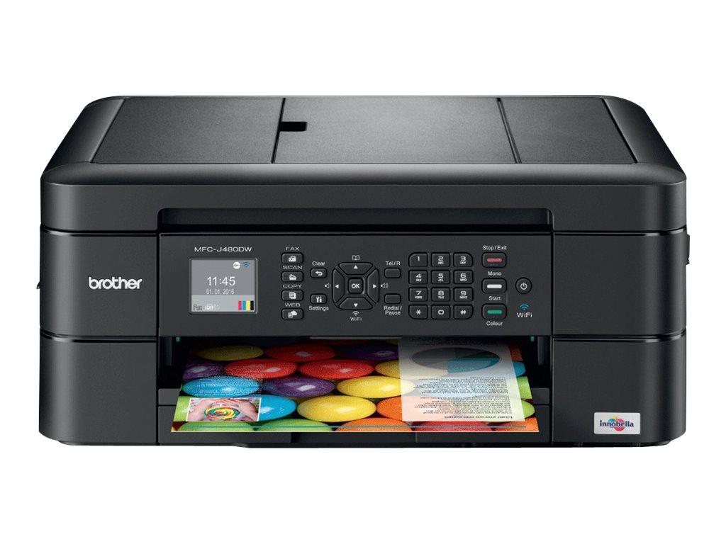 Brother MFC-J480DW - Multifunktionsdrucker - Farbe - Tintenstrahl - Legal (216 x 356 mm)