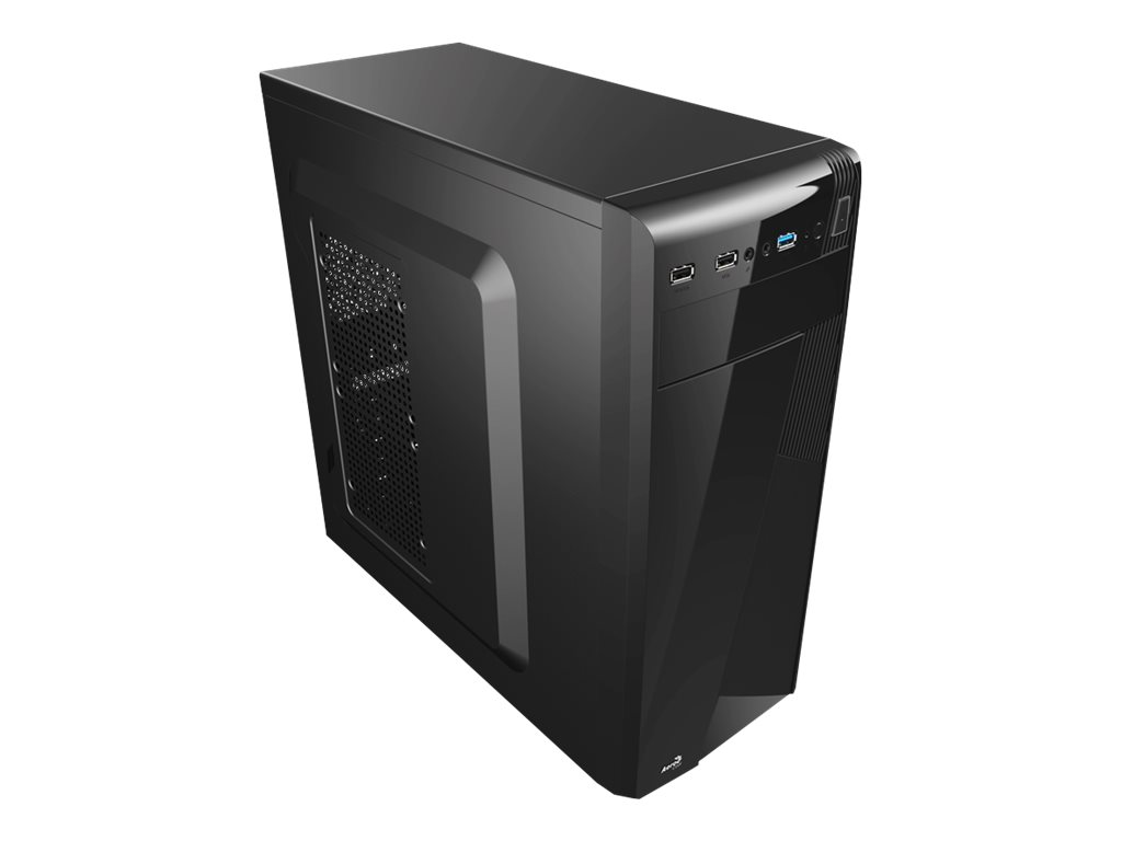 AEROCOOL ADVANCED TECHNOLOGIES AeroCool PGS C Series CS-1101 - Black Edition - Tower - ATX - ohne Netzteil (ATX)