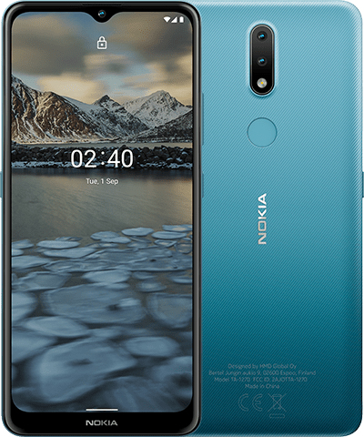 Nokia 2.4 - 16,5 cm (6.5 Zoll) - 3 GB - 32 GB - 13 MP - Android 10.0 - Blau