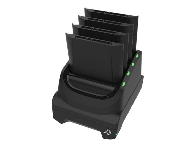 Zebra 4-slot battery charger - Batterieladegerät