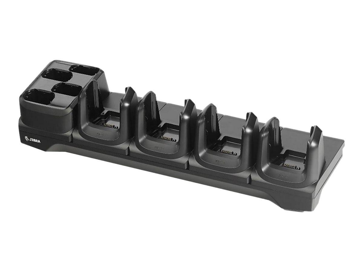 Zebra ShareCradle 4Slot - Ladeschale / Batterieladegerät