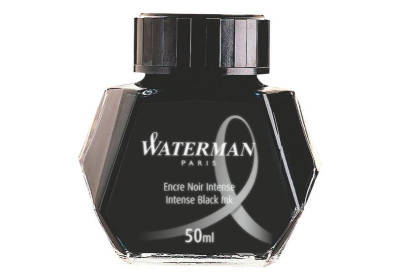 WATERMAN S0110710 - Schwarz - Schwarz - Durchscheinend - Füllfederhalter - 50 ml - 1 Stück(e)