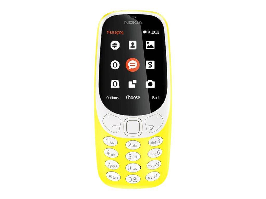 Nokia 3310 Dual SIM 2.4Zoll Gelb Funktionstelefon EU