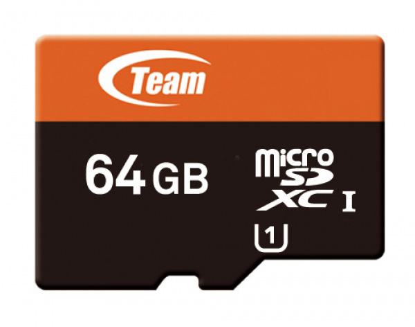 Team Group microSDXC 64GB 64 GB MicroSDXC 40 MB/s 10 MB/s