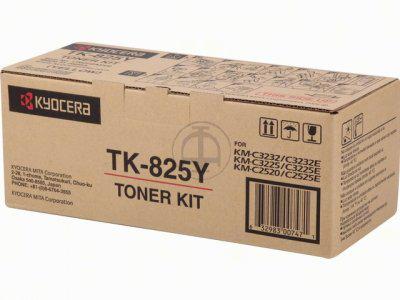 Kyocera TK 825Y - Gelb - Tonersatz