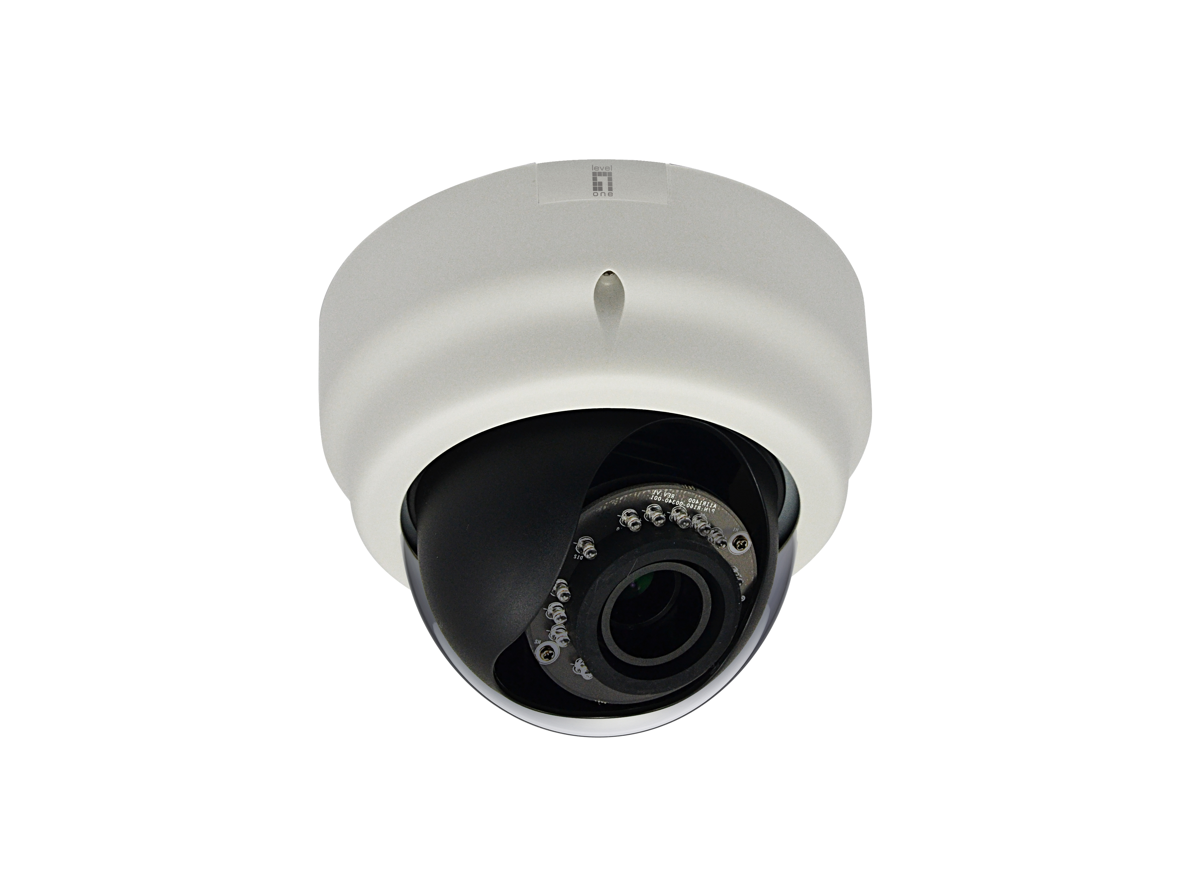 LevelOne Fixed Dome Network Camera - 5-Megapixel - PoE 802.3af - Day & Night - IR LEDs - WDR