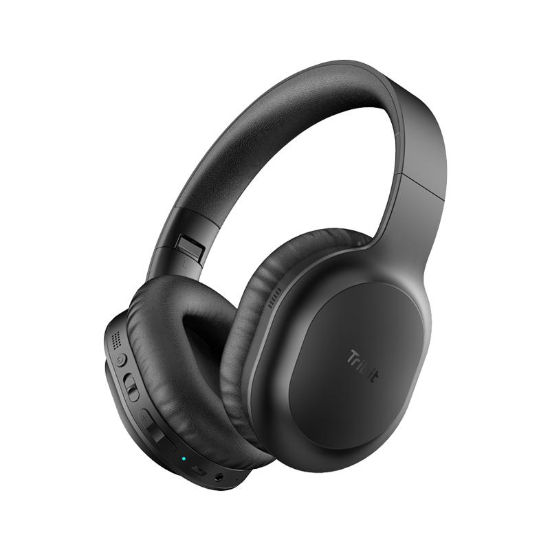 Tribit Audio QuietPlus 50 - Kopfhörer - Multi-key - schwarz