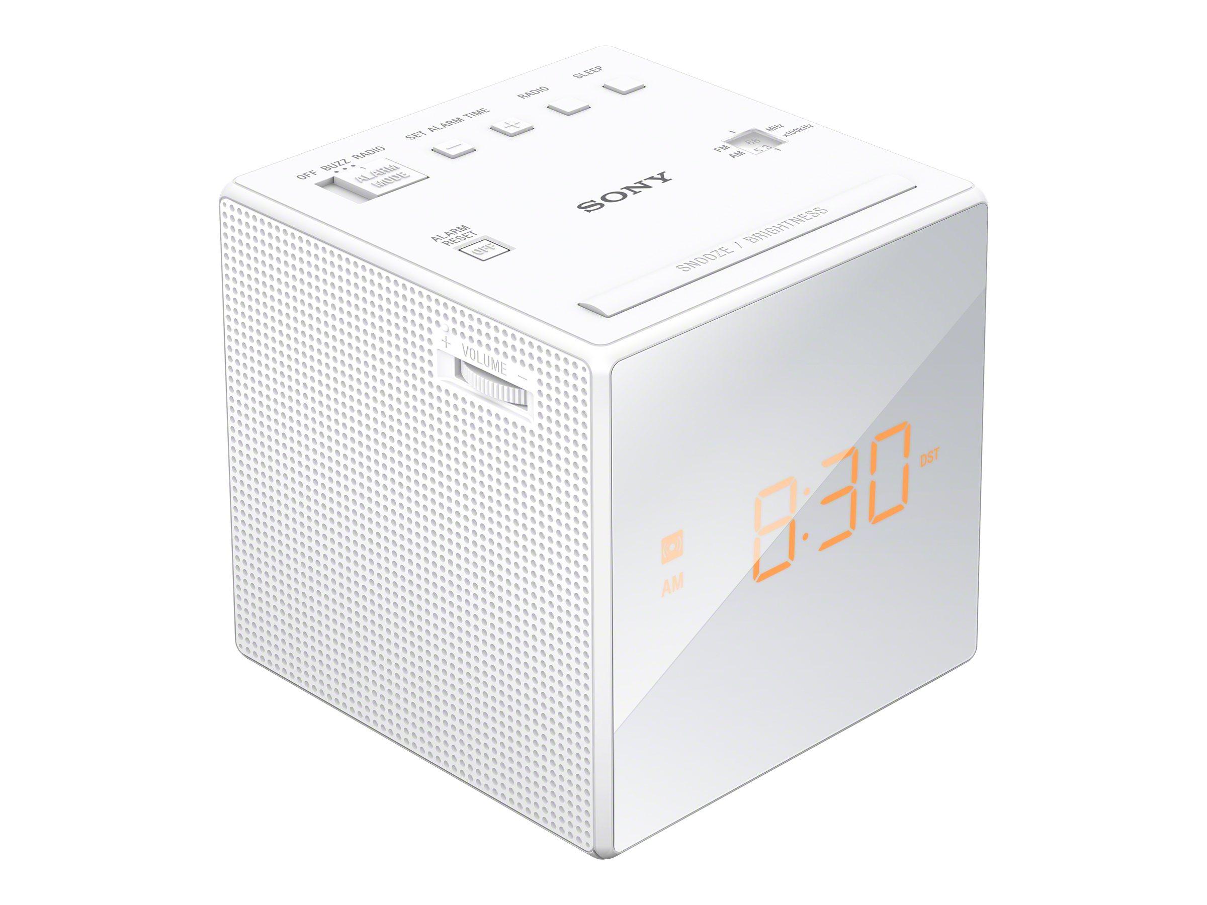 Sony ICF-C1 - Radiouhr - wei?