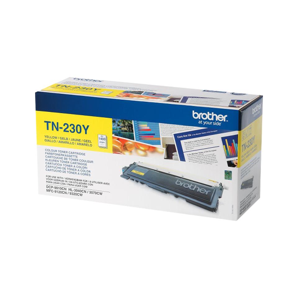 Brother TN-230Y Laser cartridge 1400Seiten Gelb Lasertoner / Patrone