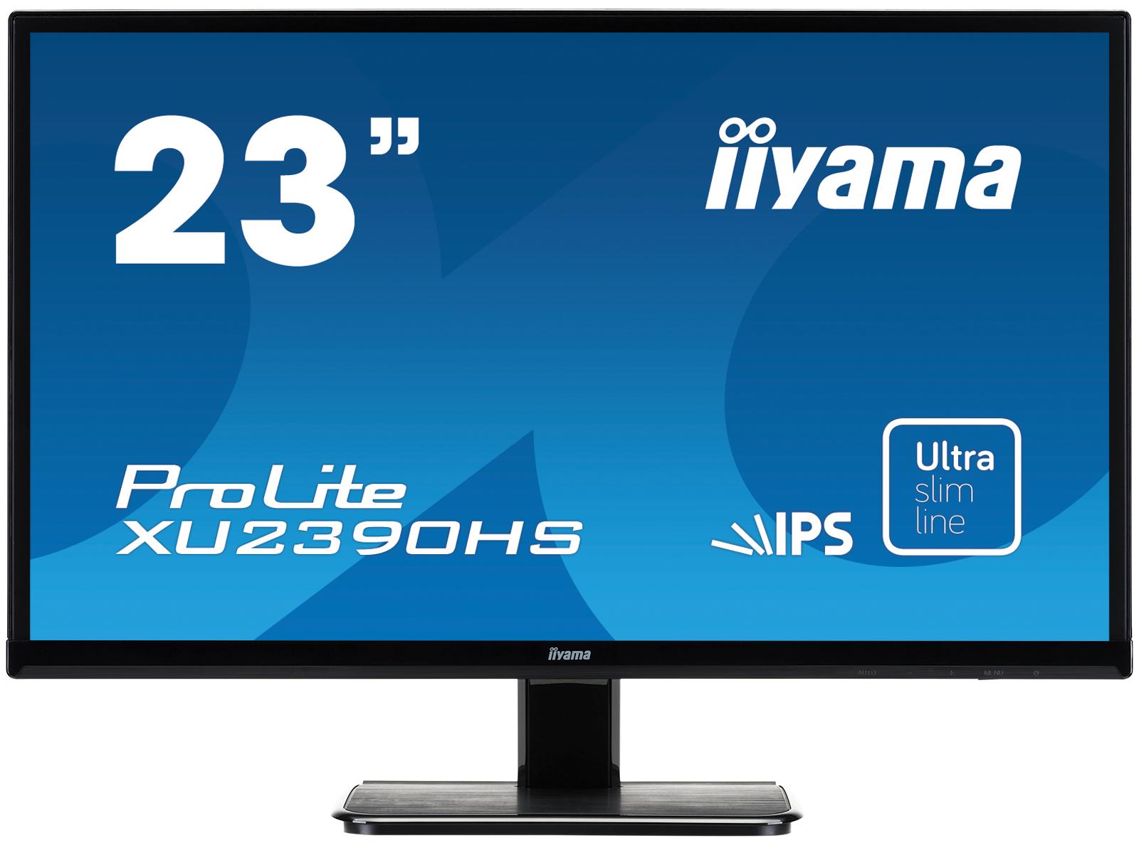 Iiyama ProLite XU2390HS 23Zoll Full HD IPS Schwarz Computerbildschirm