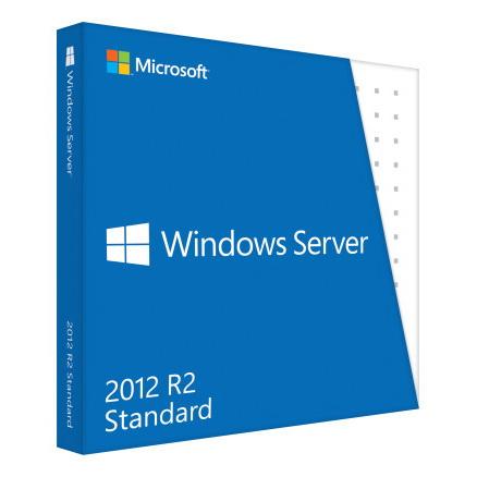Microsoft Windows Server 2012 R2 Standard - Lizenz - 2 CPU, 2 virtuelle Maschinen
