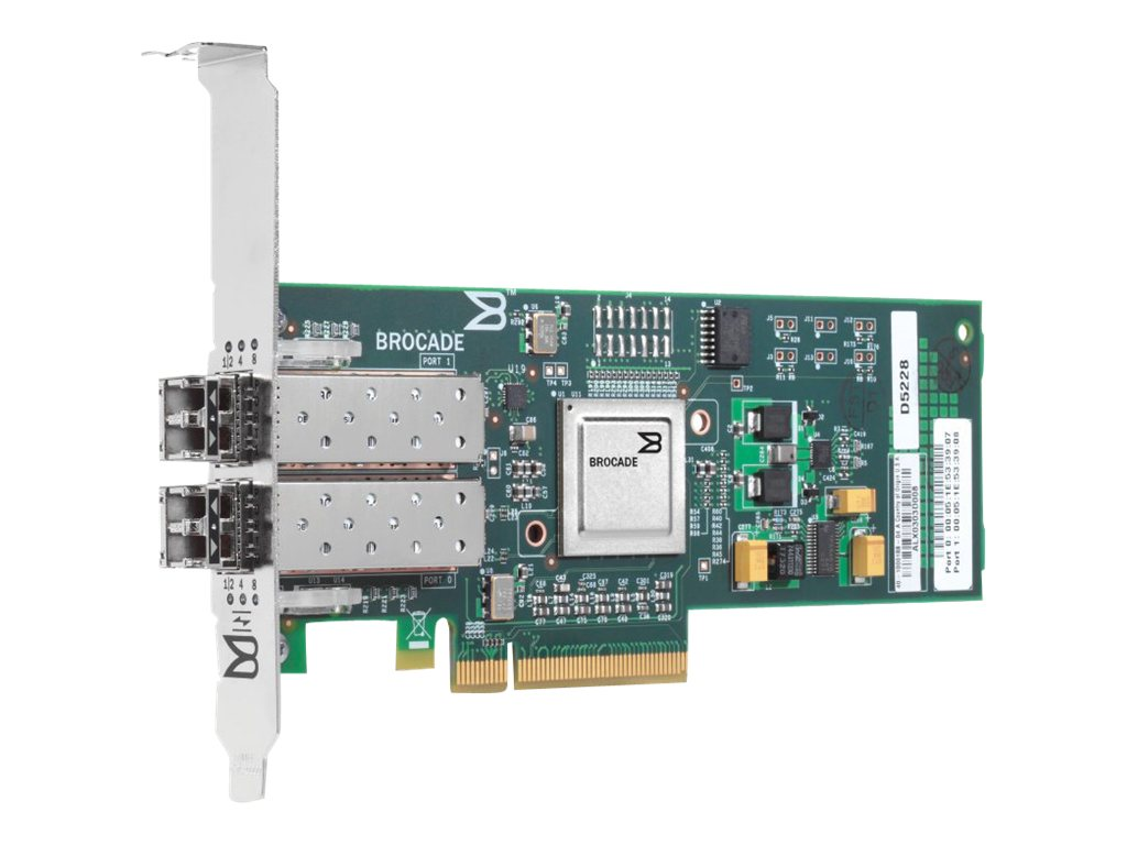 HP 82B PCIe 8Gb FC Dual Port HBA (AP770B)
