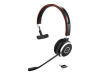 Evolve 65 UC Mono Monophon Kopfband Schwarz