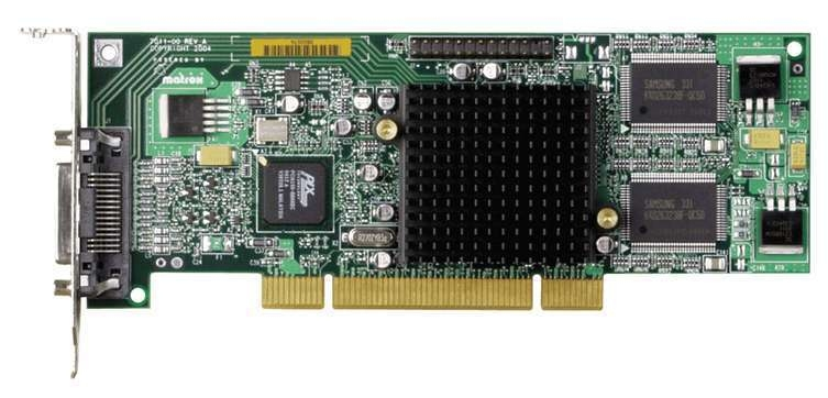 Matrox Millennium G550 LP PCI - n - MGA - 32 MB DDR - 66 MHz Low - Grafikkarte - PCI