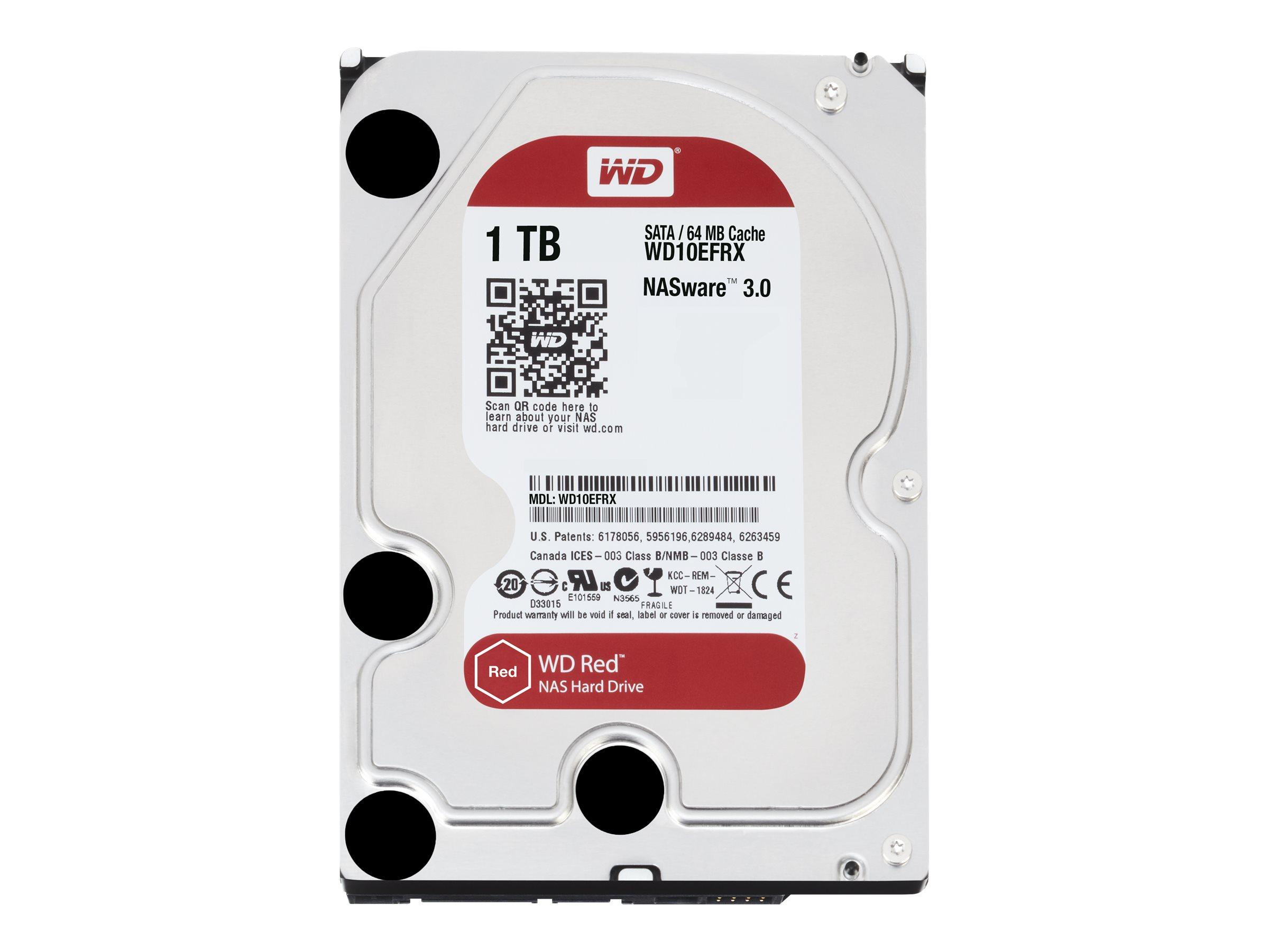 WD Red NAS Hard Drive - Festplatte - 1 TB