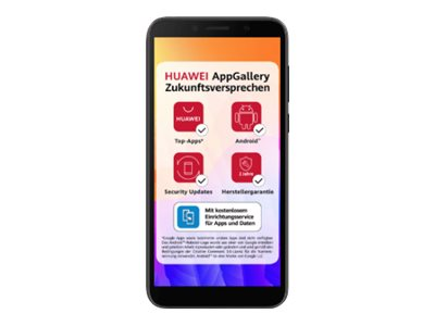 "Huawei Y5p - Smartphone - Dual-SIM - 4G LTE - 32 GB - microSDXC slot - GSM - 5.45"" - 1440 x 720 Pixel (295 ppi (Pixel pro Zoll))"