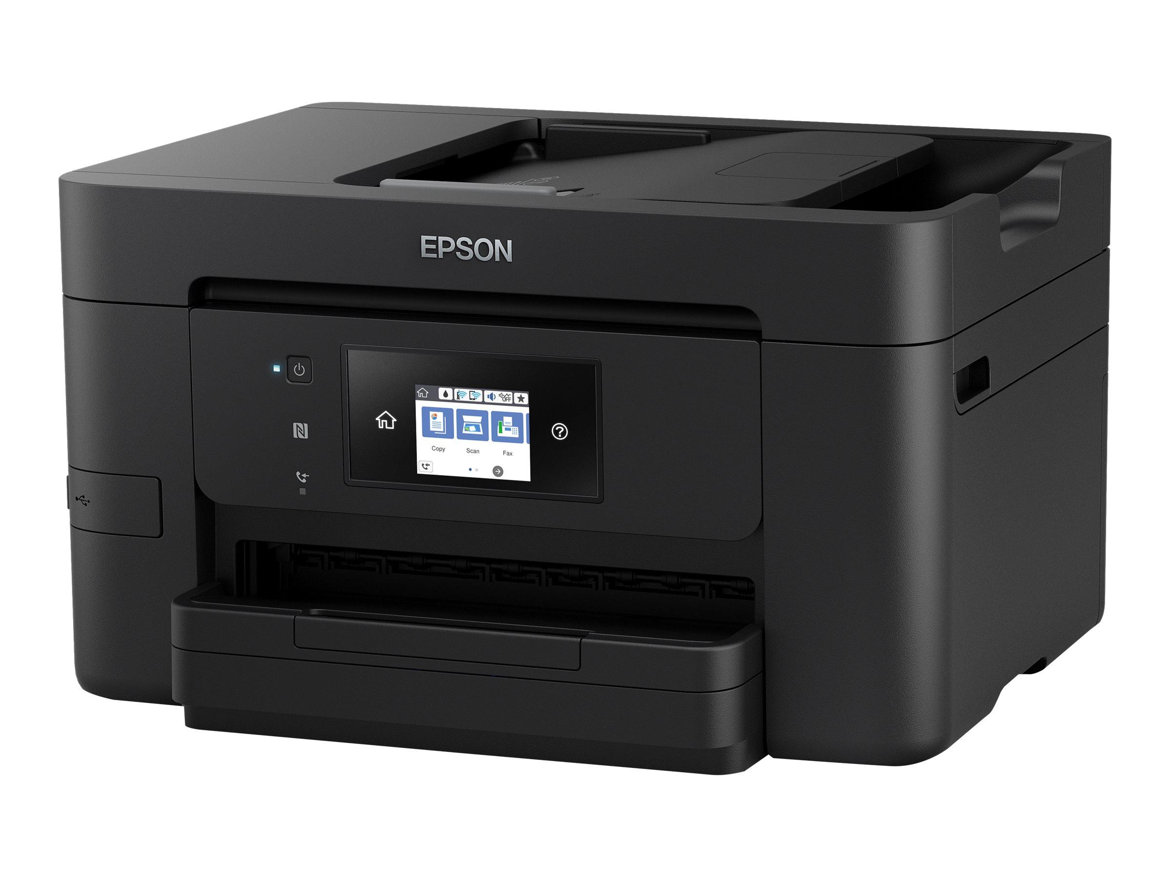Epson WorkForce Pro WF-3725DWF - Multifunktionsdrucker - Farbe - Tintenstrahl - A4/Legal (Medien)
