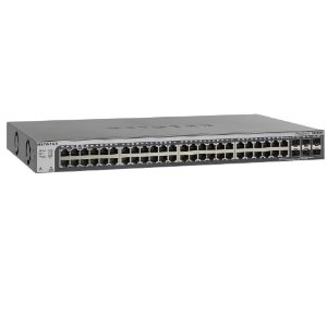 Netgear GS752TSB L3 Schwarz - Switch - WLAN 1.000 Mbps - 48-Port - Rack-Modul