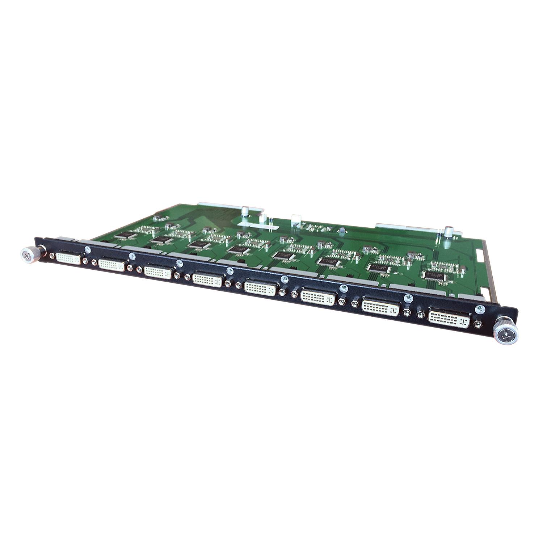 Lindy 8 Port DVI-D Output Modular Board - Erweiterungsmodul - DVI-D x 8