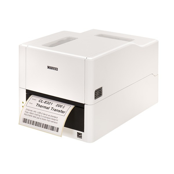 Citizen CLE321 Direct thermal / thermal transfer 203 x 203 DPI 200 mm/sec 10.4 cm 8 lpm White