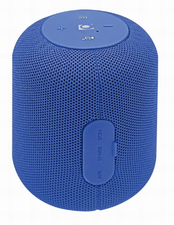 Gembird SPK-BT-15-B - Lautsprecher - Kabellos - Bluetooth - blau