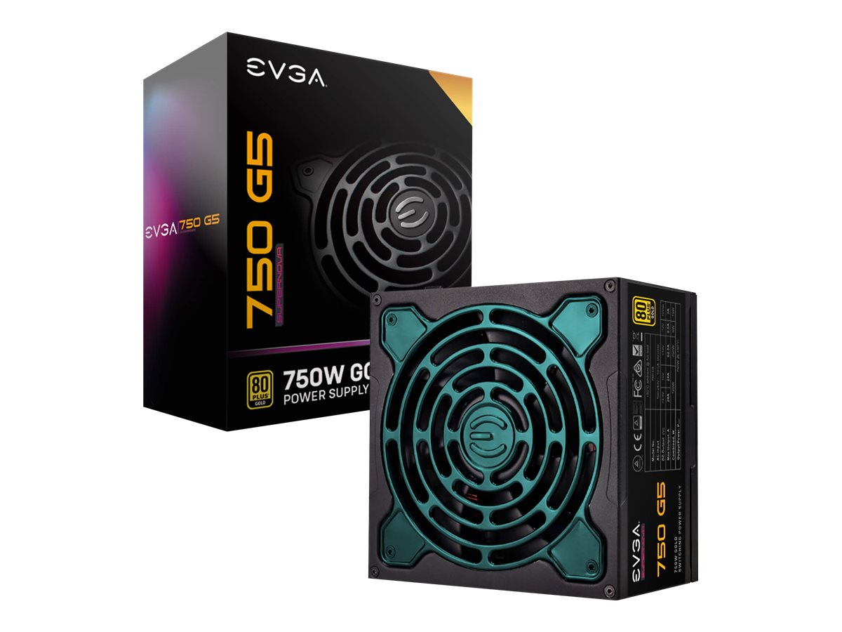 EVGA SuperNOVA 750 G5 - Netzteil (intern) - ATX12V / EPS12V