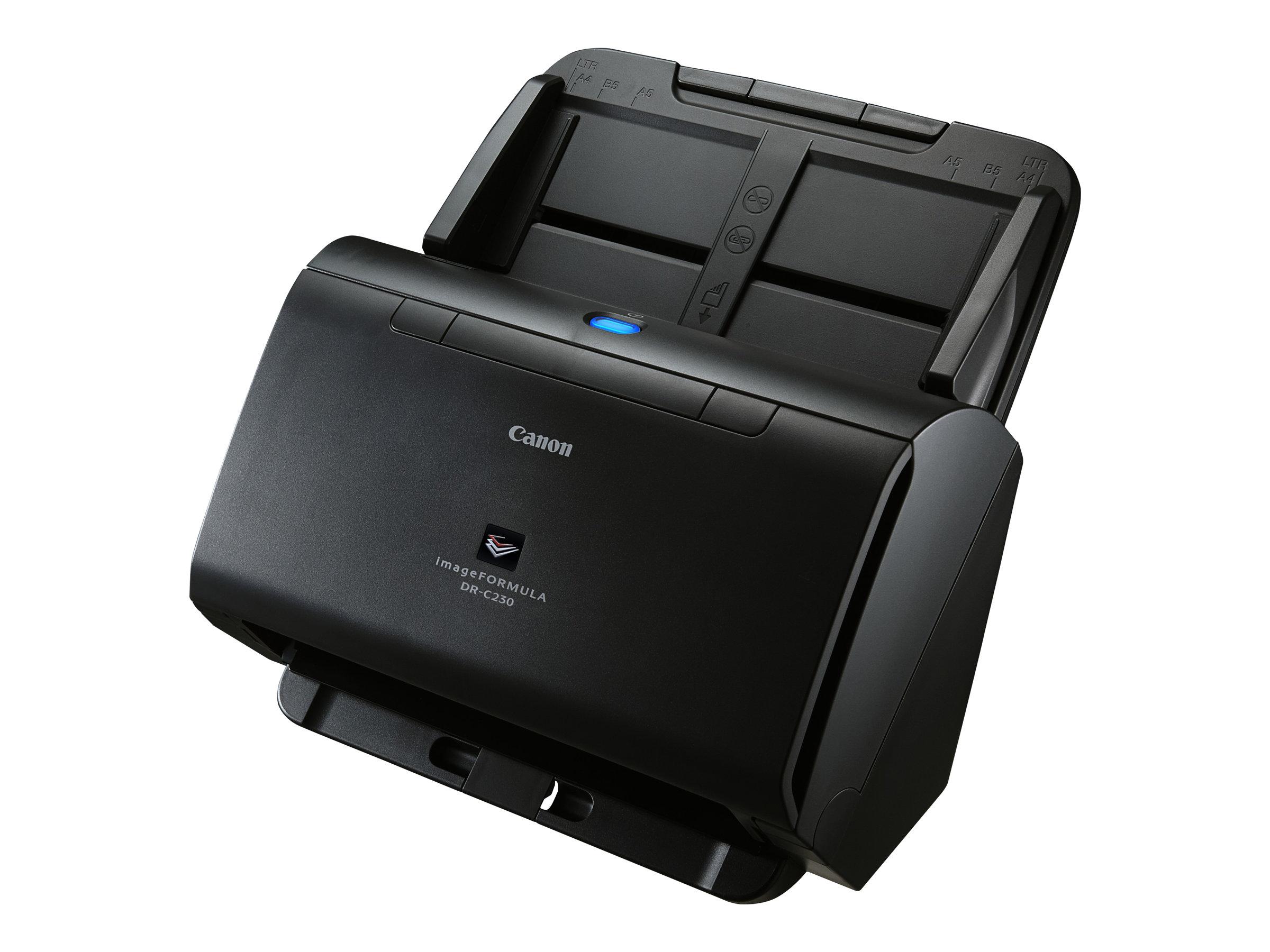 Canon imageFORMULA DR-C230 - Dokumentenscanner - CMOS / CIS - Duplex - Legal - 600 dpi x 600 dpi - bis zu 30 Seiten/Min. (einfarbig)