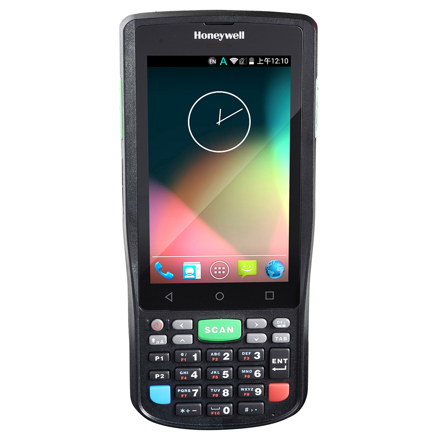 HONEYWELL ScanPal EDA50K Handheld Mobile Computer 10,2 cm (4 Zoll) 480 x 800 Pixel Touchscreen 300 g Schwarz