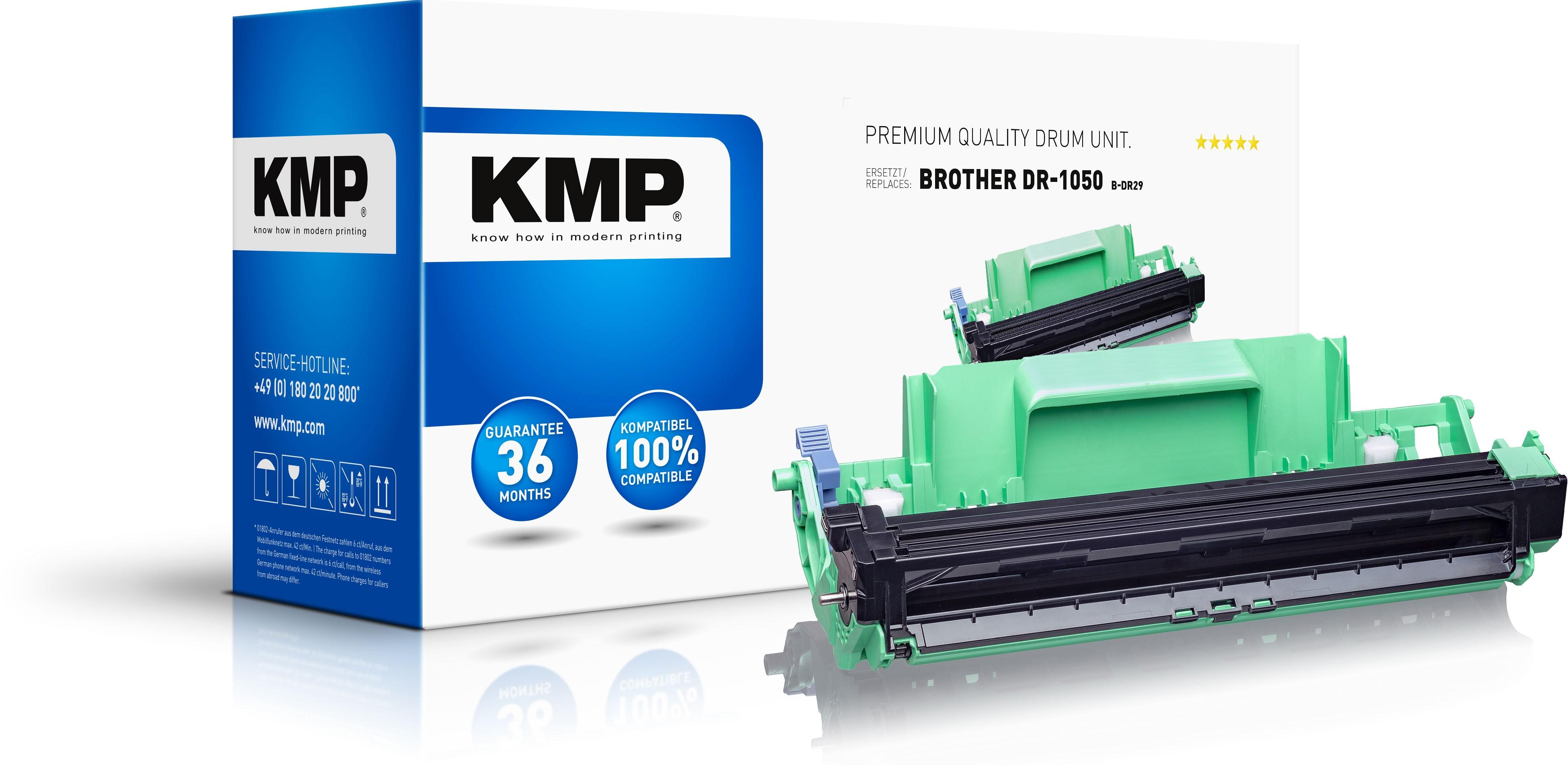 KMP Tamburo sostituisce Brother DR-1050 - DR1050 Compatibile Nero 10000 pagine B-DR29 - 1 Stück(e)