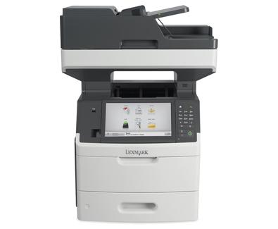 Lexmark MX718de 1200 x 1200DPI Laser A4 66Seiten pro Minute Schwarz - Weiß Multifunktionsgerät