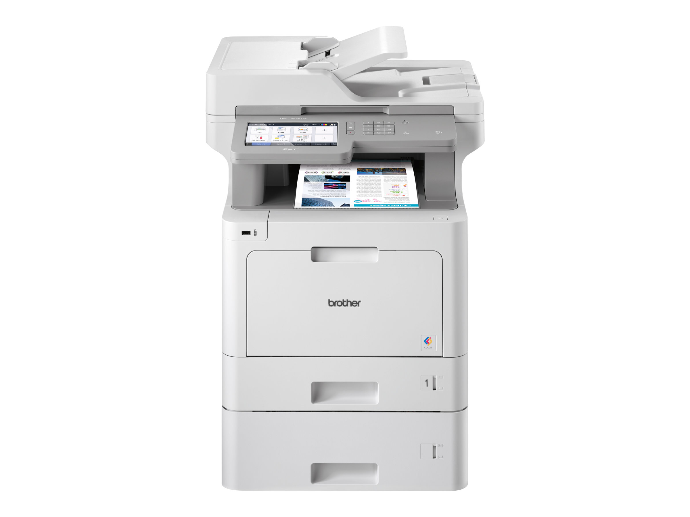 Brother MFC-L9570CDWT - Multifunktionsdrucker - Farbe - Laser - A4/Legal (Medien)