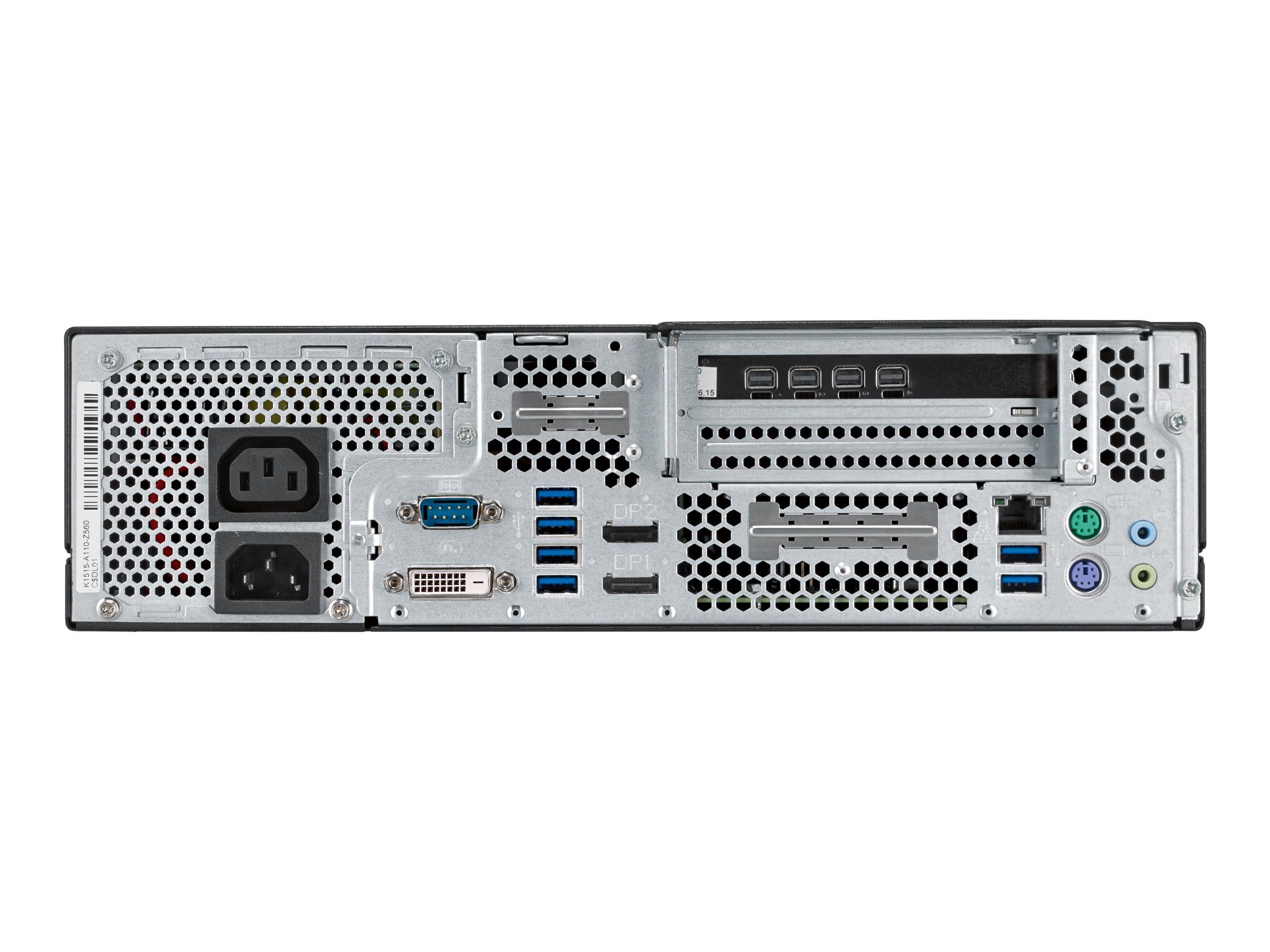 Fujitsu Celsius J580 - SFF - 1 x Core i7 9700 / 3 GHz