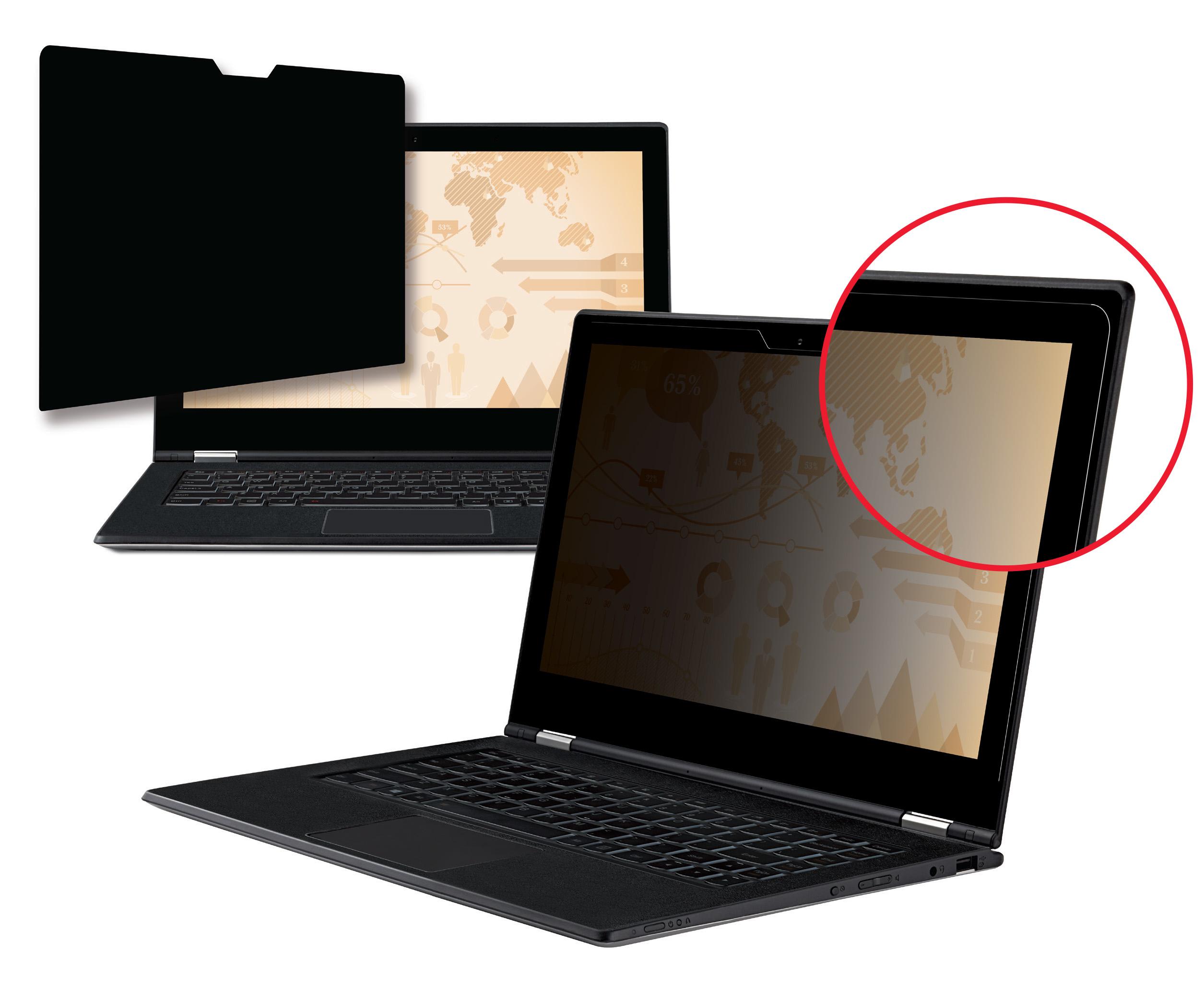 3M PF13.3W9E - Notebook-Privacy-Filter - 13,3 Zoll Breitbild