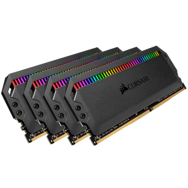 Corsair Dominator Platinum RGB - DDR4 - Kit - 64 GB: 4 x 16 GB