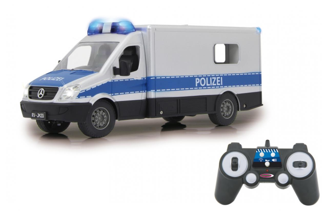 JAMARA 405165 - Auto - Elektromotor - 1:16 - Fahrbereit (RTD) - Schwarz - Blau - Silber - Junge/Mädchen