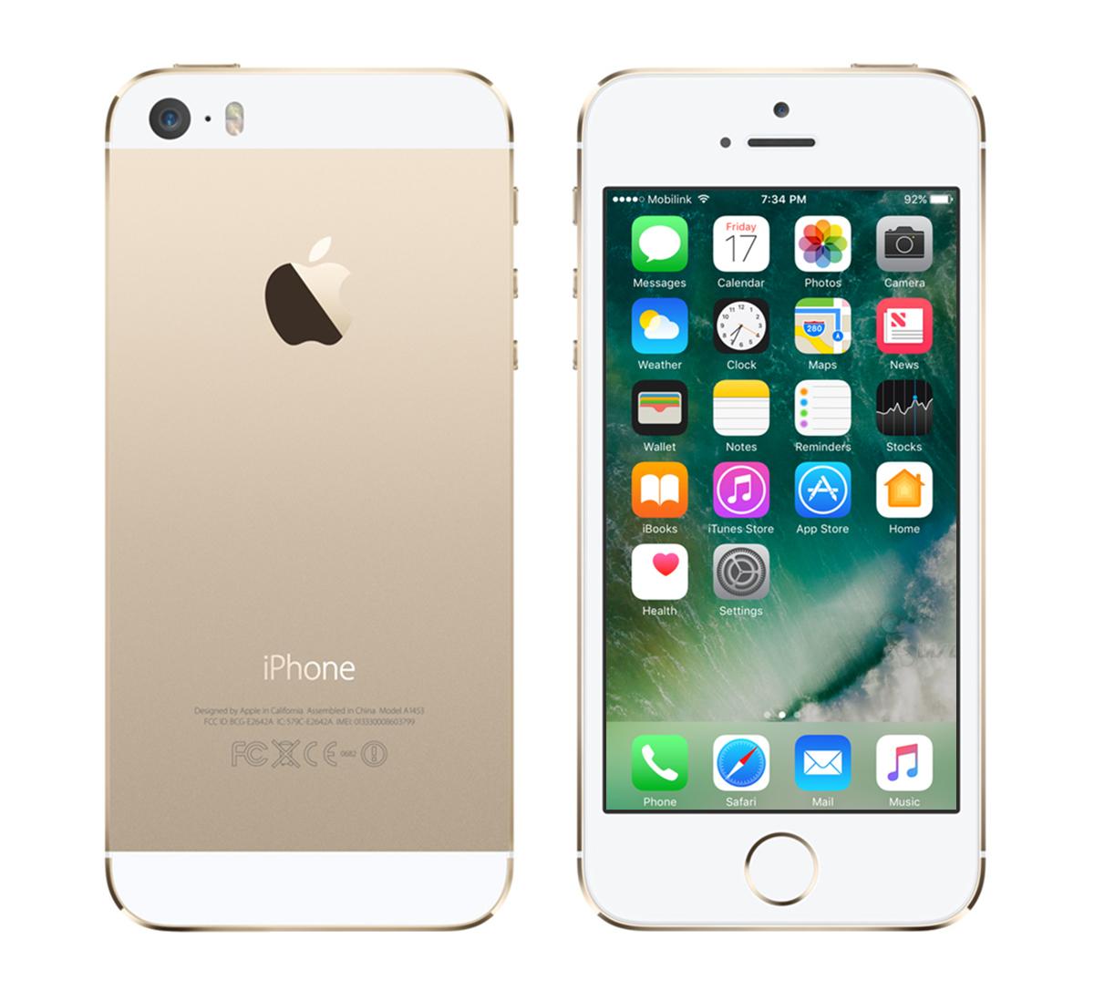 Dignitas Renewd Apple iPhone 5S aufgearbeitet - 32GB Gold