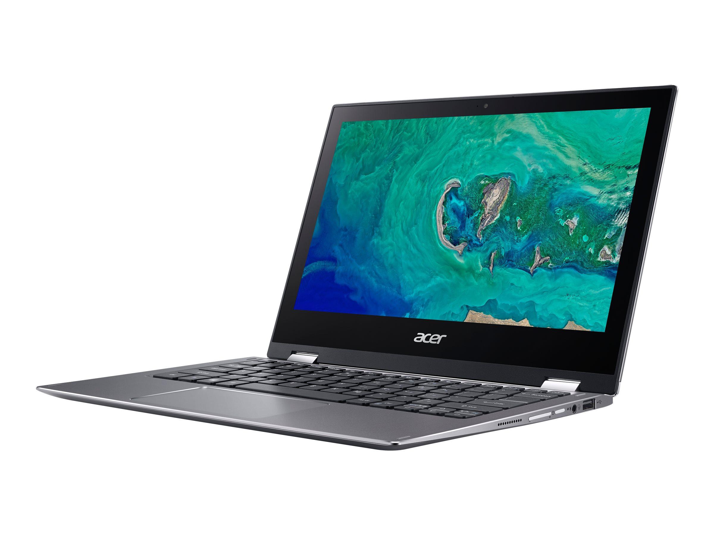 Acer Spin 1 SP111-34N-P36Y - Flip-Design - Pentium Silver N5030 / 1.1 GHz - Windows 10 Home 64-Bit im S-Modus - 4 GB RAM