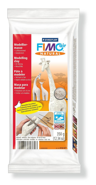 STAEDTLER FIMO air natural 8150 - Knetmasse - Weiß - Erwachsene - 1 Stück(e) - Edelweiss - 1 Farben