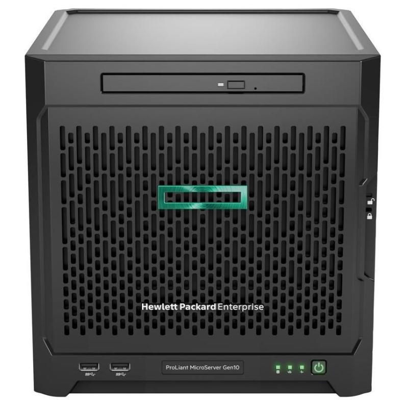 HP Enterprise ProLiant MicroServer Gen10 - 1,6 GHz - X3216 - 8 GB - DDR4-SDRAM - 200 W - Ultra Micro Tower