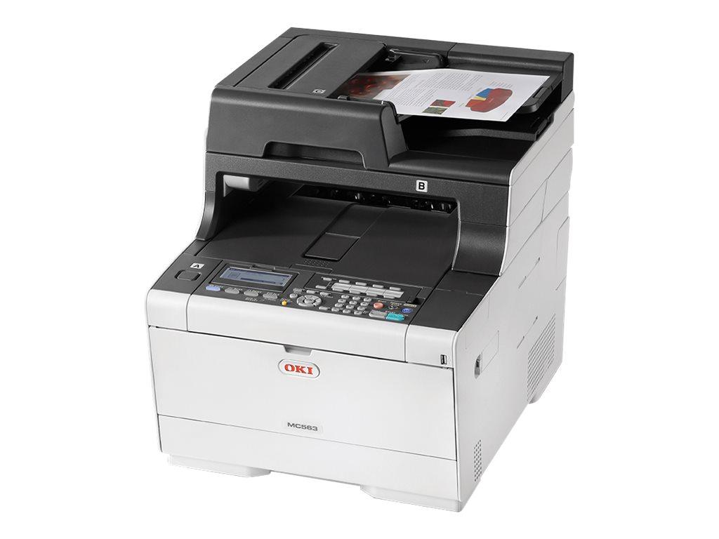 OKI MC563dn - Multifunktionsdrucker - Farbe - LED - A4 (210 x 297 mm)