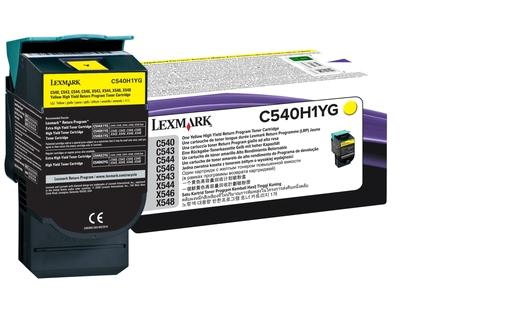 Lexmark C540H1YG Laser cartridge 2000Seiten Gelb Lasertoner / Patrone