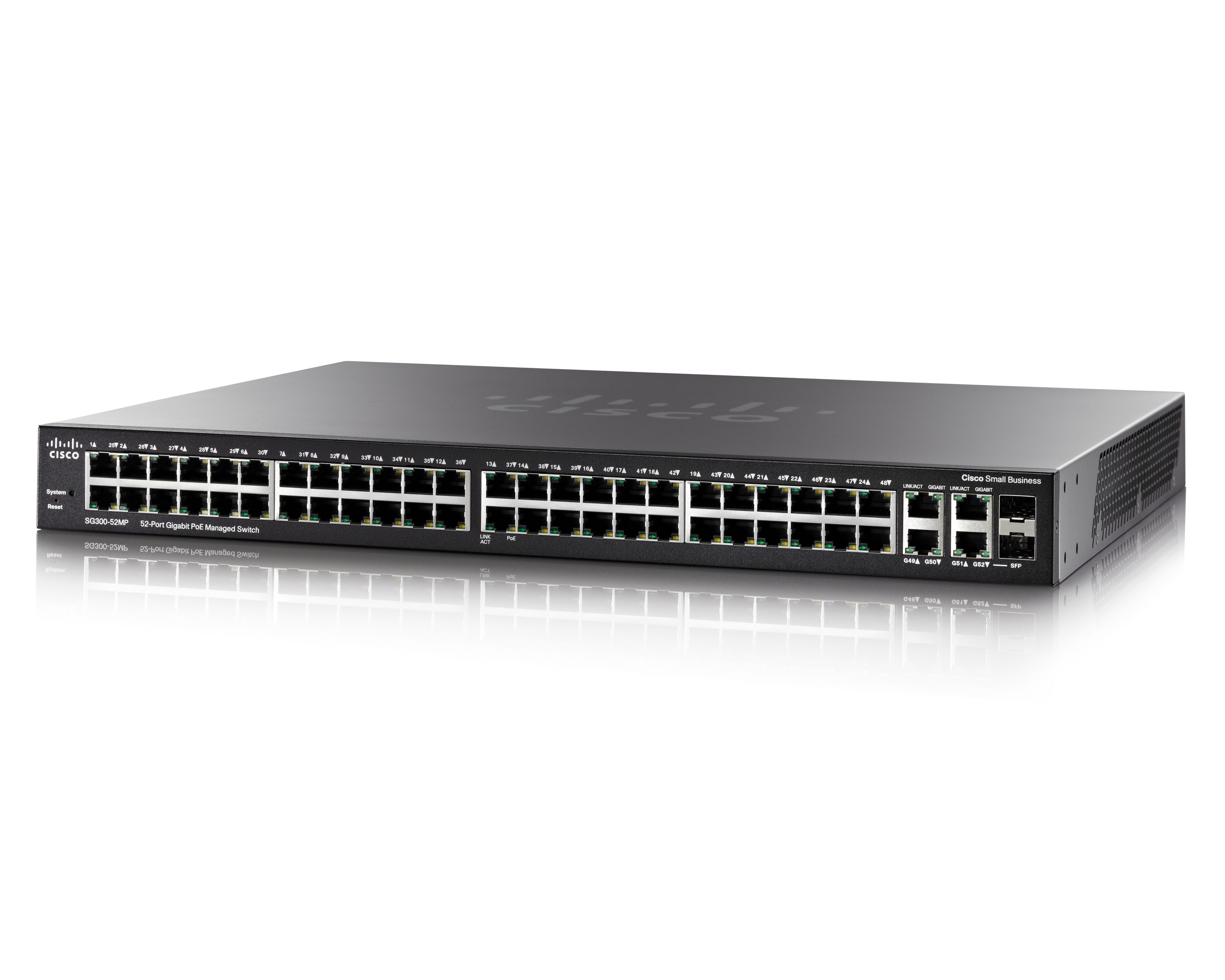 Cisco SB SG300-52MP Switch (SG300-52MP-K9-EU) - REFURB