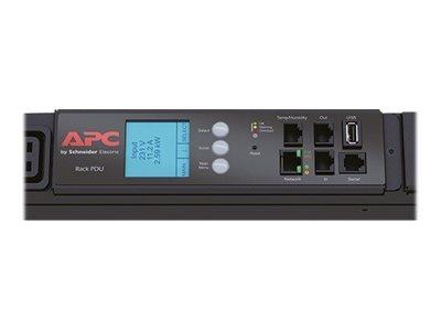 APC Metered Rack PDU - Stromverteilungseinheit (Rack - einbaufähig)